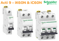 MCB RCCB Acti9 Series Schneider - Catalogue